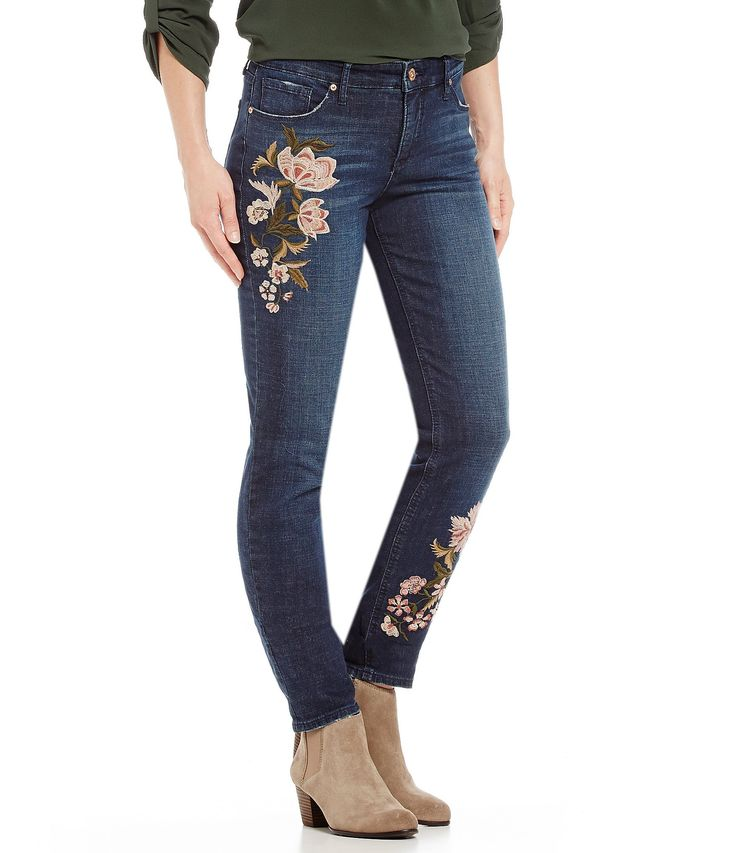 Shop for MIRACLEBODY JEANS Perfect Boyfriend Floral Embroidered Jeans at Dillards.com. Visit Dillards.com to find clothing, accessories, shoes, cosmetics & more. The Style of Your Life.