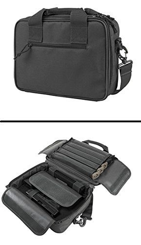 Urban Grey Springfield Armory XD XDS XDM 9mm .22 .357 Sig 38 Special .40 S&W .45 ACP GAP Dual Tactical Handgun Case Holds 2 Pistols with 10 Single Double Stack Magazine Pockets and Carry Handle   http://huntinggearsuperstore.com/product/urban-grey-springfield-armory-xd-xds-xdm-9mm-22-357-sig-38-special-40-sw-45-acp-gap-dual-tactical-handgun-case-holds-2-pistols-with-10-single-double-stack-magazine-pockets-and-carry-handle/