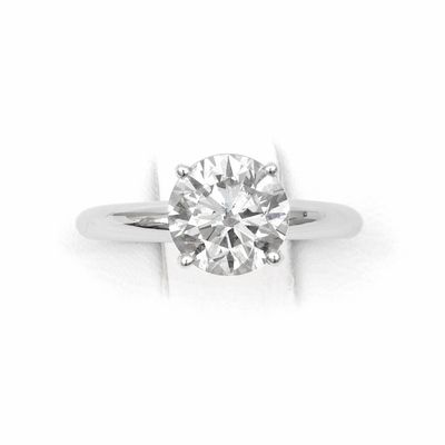 Want something that will really stand out on your fiance's hand in the crowd? This 14kt Classic Style Solitaire Ring with 1.57 Carat G-VS2 Round Clarity Enhanced diamond is the engagement ring you're looking for! http://skydelldesign.com/round-cut-diamond-solitaire-ring-12.html
