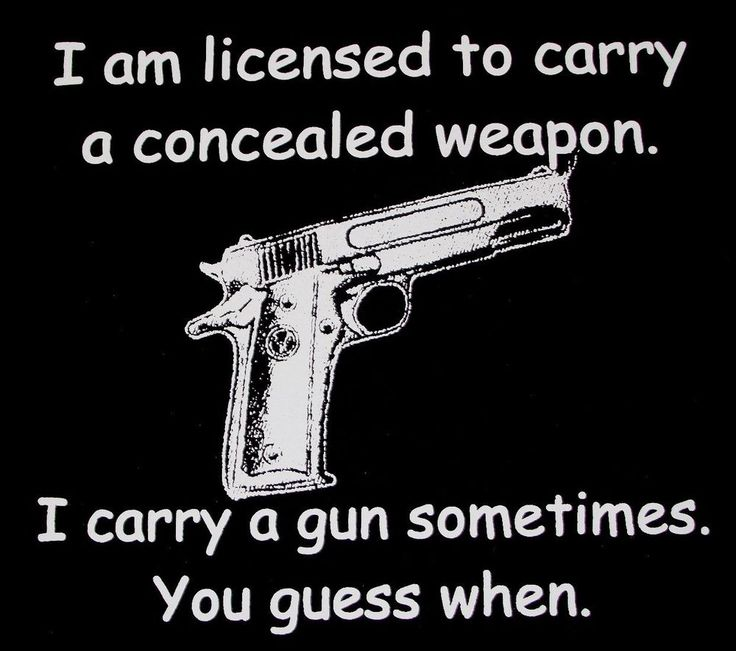 Concealed Carry License Get Out Of Car