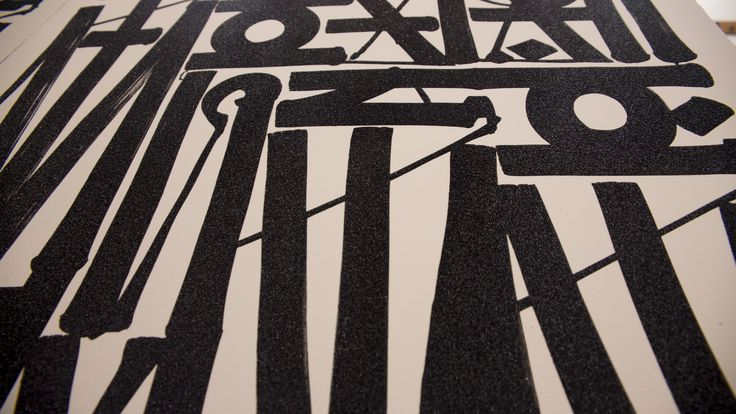 "Details of the Retna's lithograph ""So you can see me"". Discover more here."
