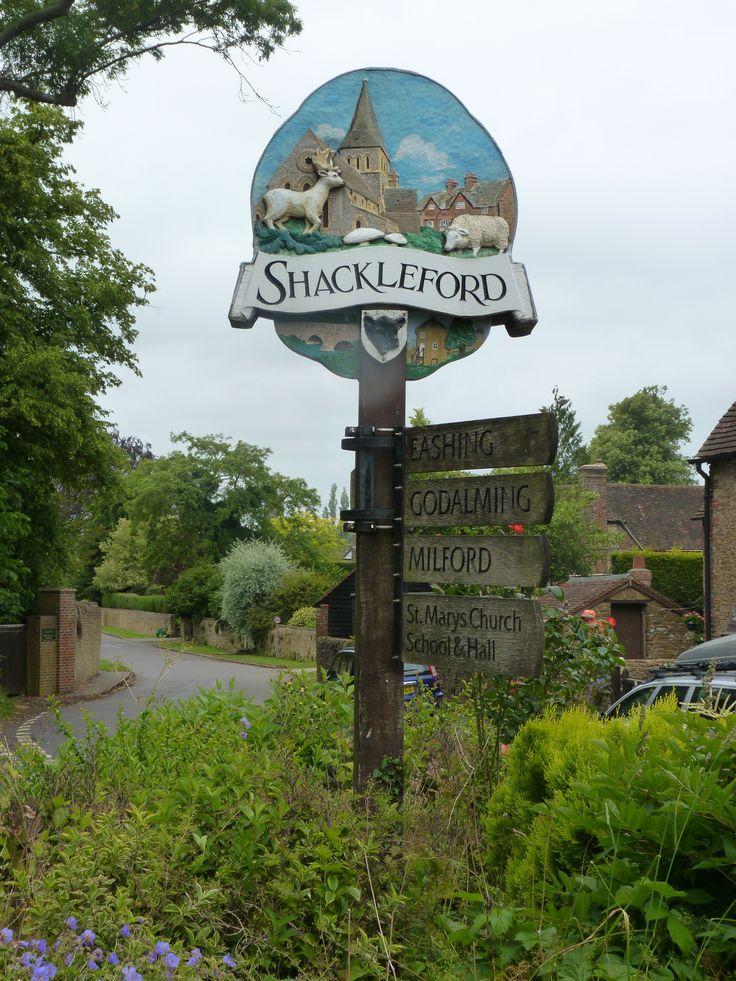 Shackleford village sign