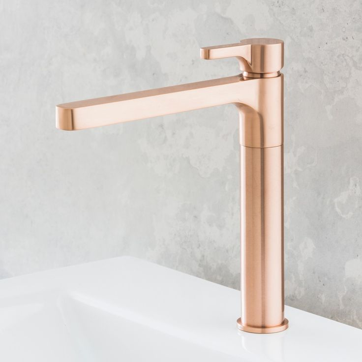 Rogerseller Arq Kitchen Sink Mixer Rose Copper - Rogerseller