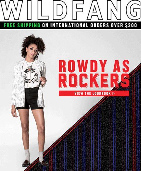 "SUB: ""Rowdy as rockers"" Layout interessante."