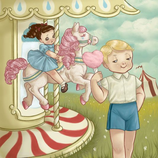 "Carousel by Melanie Martinez ""The carnival is where she fell For the first time on the carousel Round and round through the same hell"" She never gets under his shell"