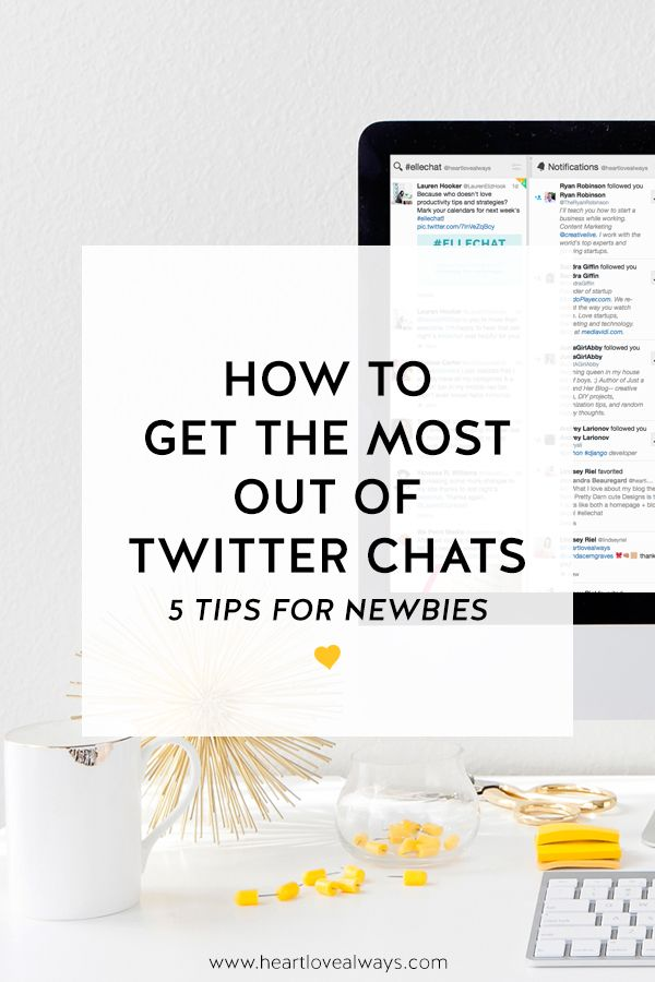 Newbies! How to Get the Most Out of Twitter Chats