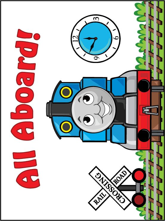 This is a graphic of Satisfactory Printable Thomas the Train
