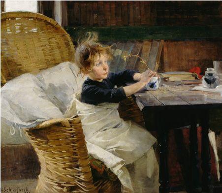 Helene Schjerfbeck, Die Genesende, 1888, 92 x 107 cm, Öl auf Leinwand, Ateneum Art Museum, Finnish National Gallery, Helsinki © VG Bild-Kunst, Bonn 2014