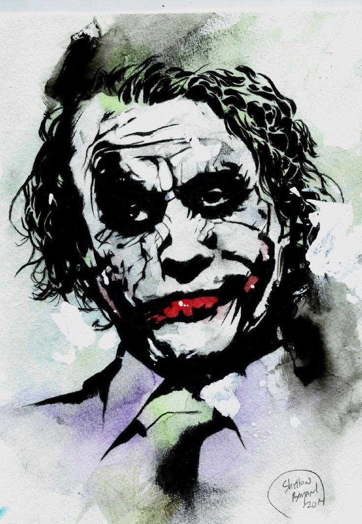 pin the joker art - photo #41