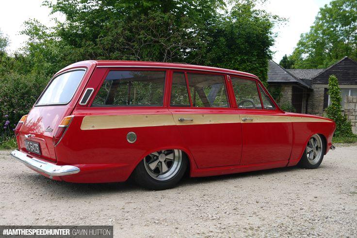 slammed Mk1 Ford Cortina estate
