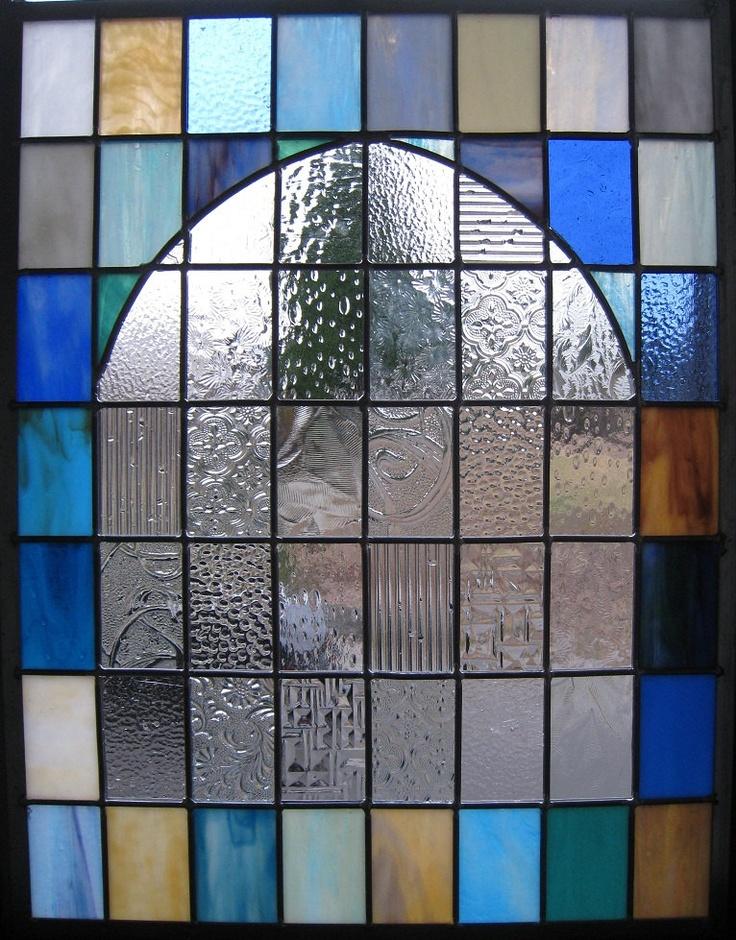 Stained Glass Window - Arched Church Window - Suncatcher ...