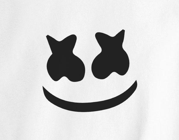 Who is Marshmellow Man EDM Dance music trance party music dj tee t-shirt