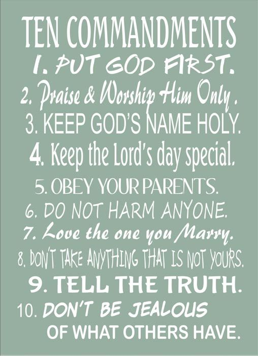 Image result for jealousy bible verse | Family | Ten commandments