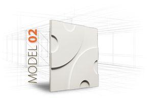 LOFT 3D-paneeli, malli 02 www.dekotuote.fi