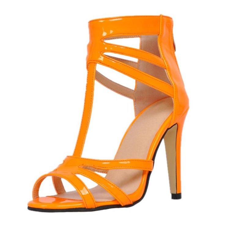 17 best ideas about orange high heels on cheap