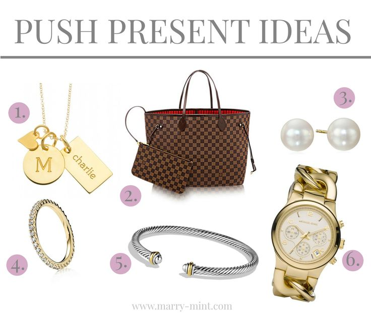 Marry mint push gifts jewelry gifts push presents