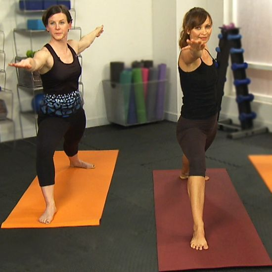 10-Minute Yoga Flow Series to Lengthen and Tone. Hey, It's Toni. I just did this and it definitely gets your heart rate up a bit bc you are constantly moving. Def adding this to my morning workout :)