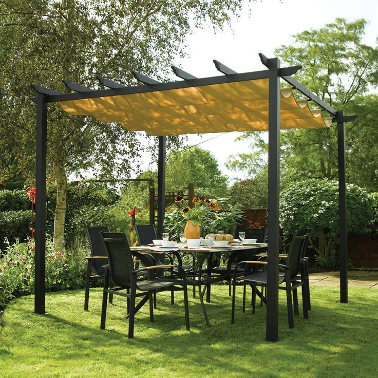 Bosmere A020 Latina Free-Standing Retractable Canopy   ATG Stores