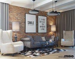 salon rustykalny-projektowanie wnętrz - zdjęcie od MIKOŁAJSKAstudio