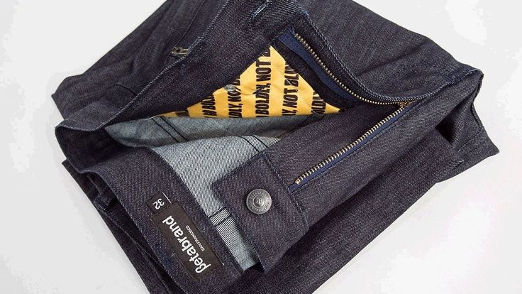 Jeans that block wireless RFID signals, prevent hackers accessing card details, are to go on sale.