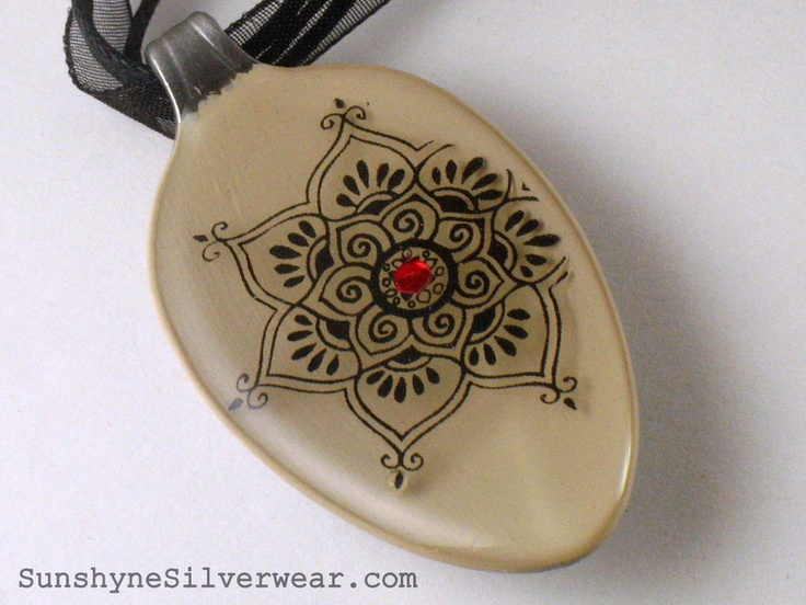 Mehndi by Sunshyne Silverwear ~ Recycled Spoon Pendants...and MORE!