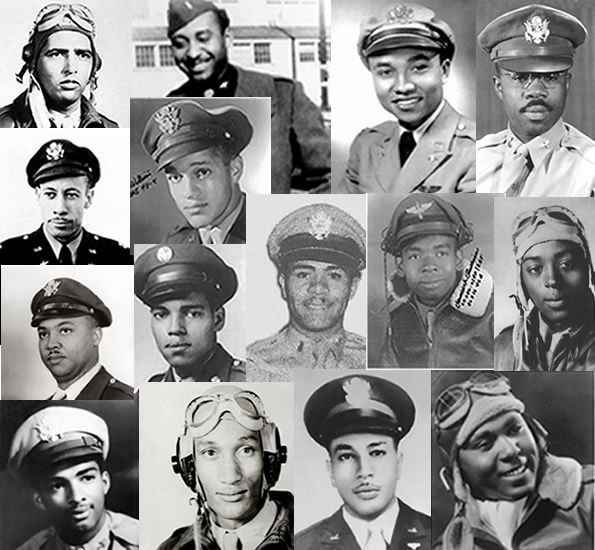 The Tuskegee Airmen of World War Two - honor, dignity & determination are all a