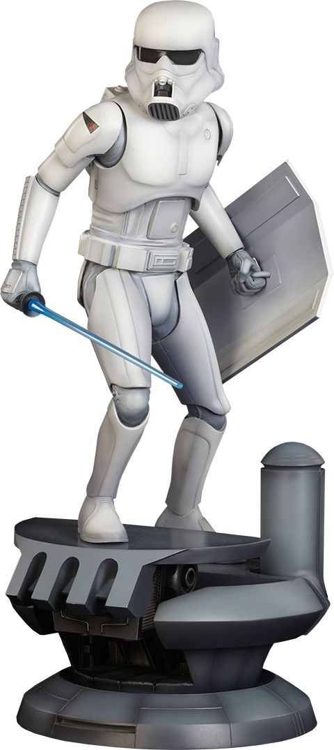 Ralph McQuarrie Stormtrooper Stormtrooper Statue by Sideshow Collectibles