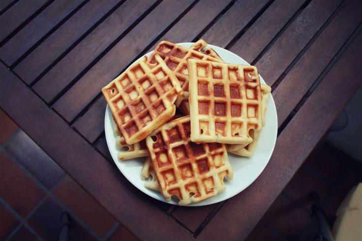 Рецепт: Домашние венские вафли в электровафельнице - пошаговый фото рецепт приготовления