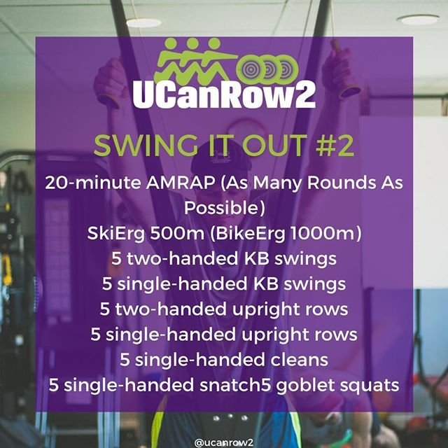 Swing It Out Rowing Kettlebell Workout Kettlebell Workout Hiit Workouts With Weights Hiit Workouts For Beginners