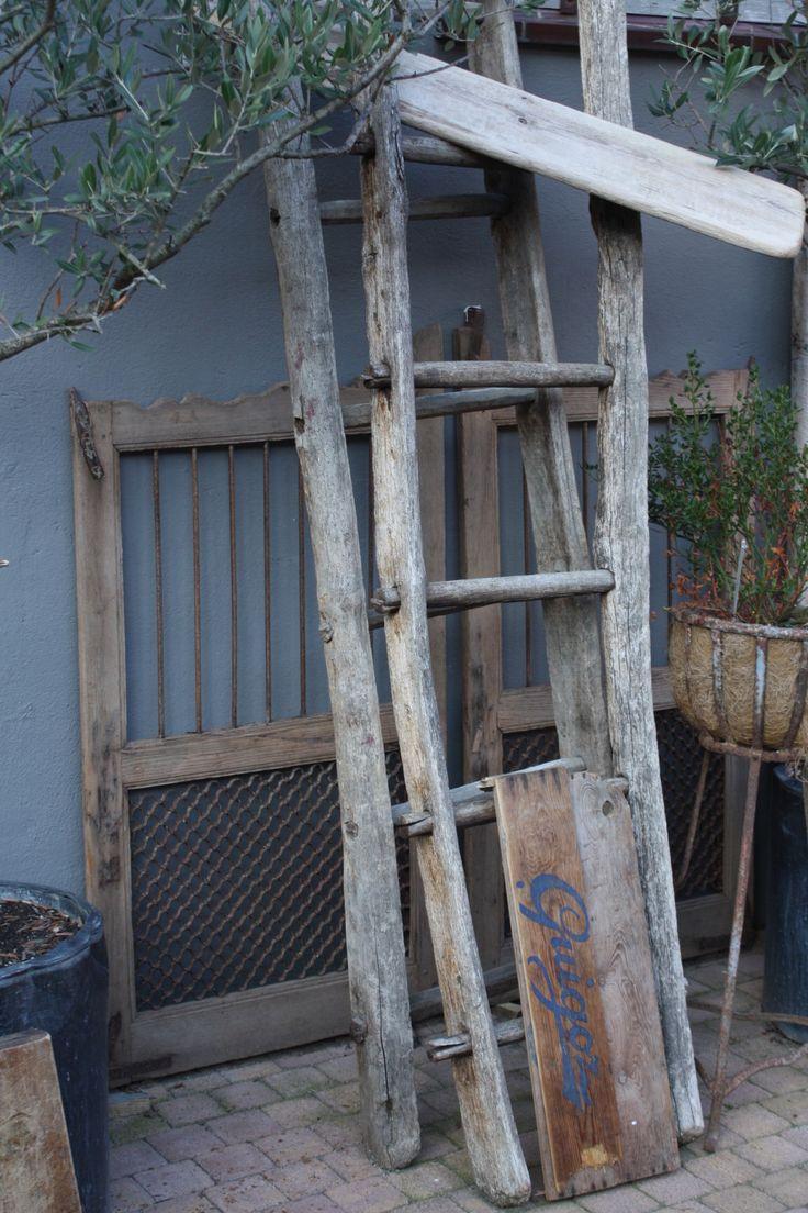 Meer dan 1000 ideeën over oude houten ladders op pinterest ...