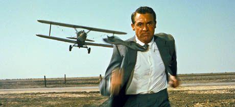 """Cary Grant en """"Con la muerte en los talones"""""""