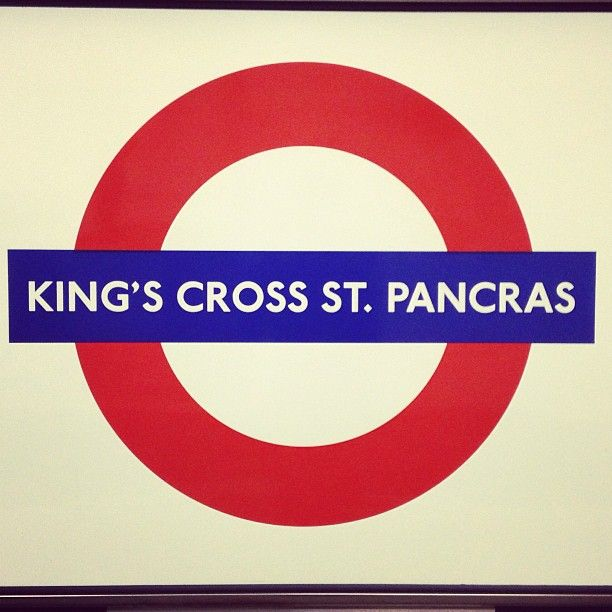 King's Cross St. Pancras London Underground Station in London, Greater London