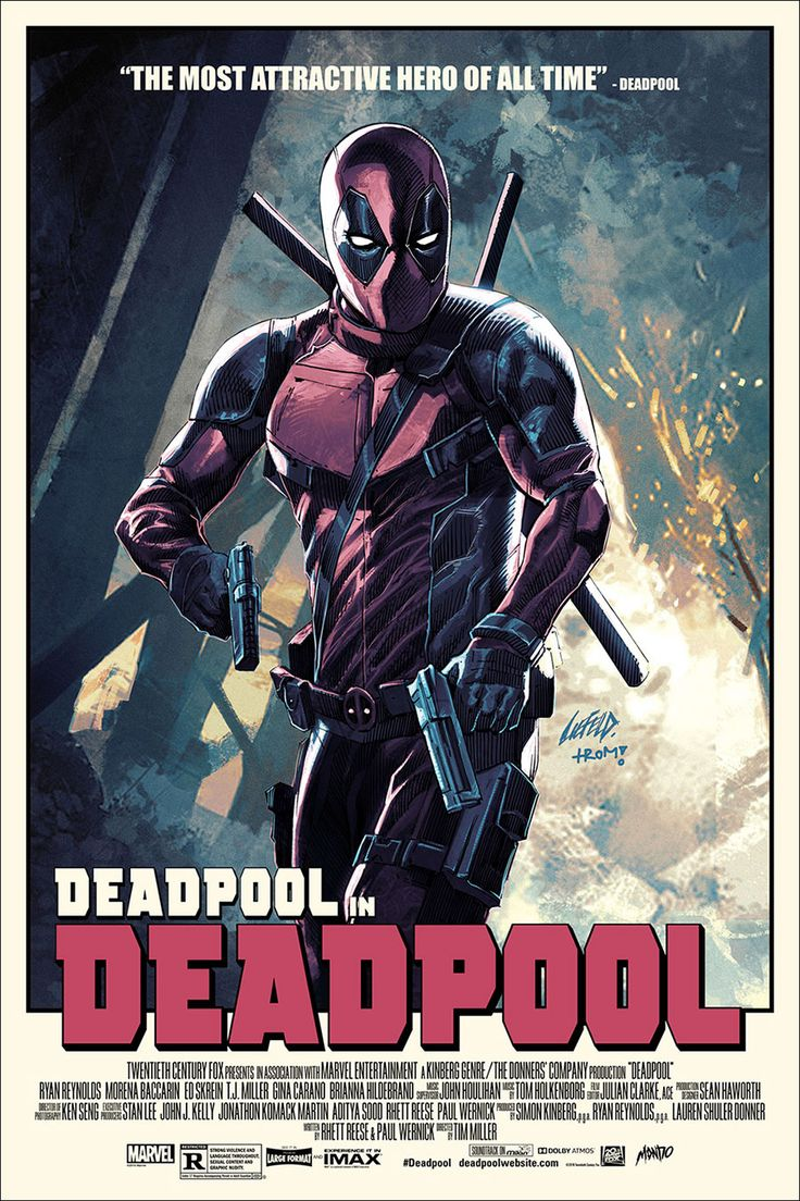 The Creator of #Deadpool Made an Awesome Mondo Poster.