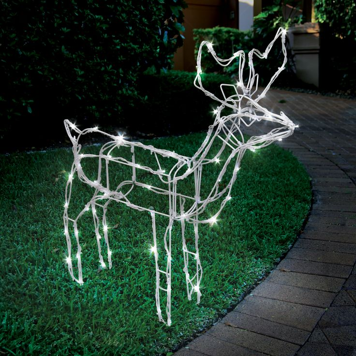 The perfect edition to your garden this festive season #reindeer #weatherproof #LED