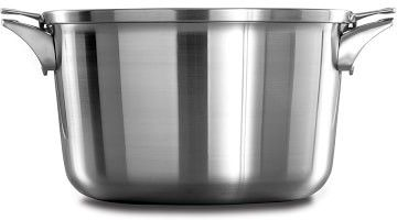 Calphalon Premier Space Saving Stainless-Steel Stock Pot