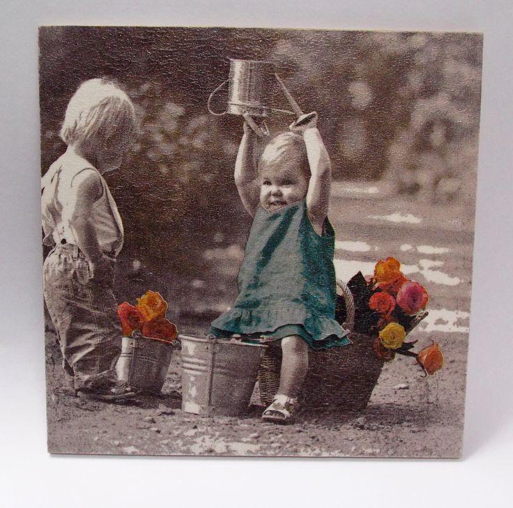 Obrázek  - Děti s konví