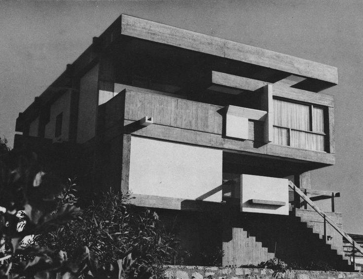 House of the Architect, Casablanca, 1960 Elie Azagury