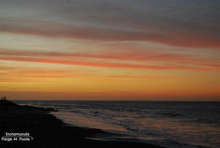 #Sunset in La Guajira, #Colombia.  www.trotamunda.wordpress.com