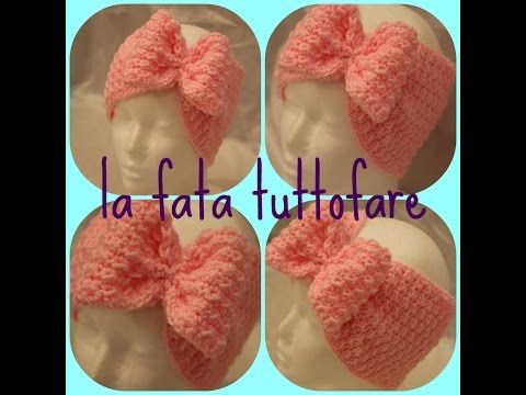 Tutorial: fascia turbante con fiocco - YouTube