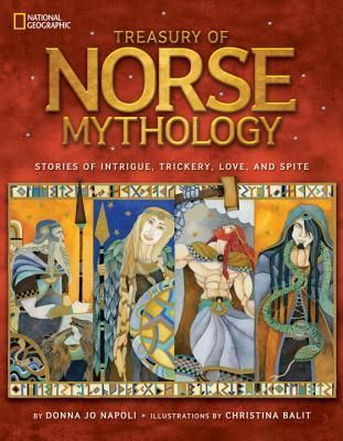 (Gr 6+) From beloved author Donna Jo Napoli comes this brightly illustrated collection of Norse myth featuring stories of love, betrayal, intrigue, and dysfunctional godly families.