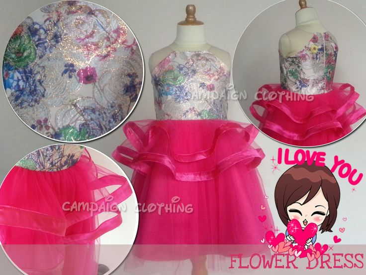 MM224 Flower Dress for kids 1-12y and Moms. Order by BB 28307189, WA/Line 081-330686508 Mumu Stuff. Merk Campaign Clothing. High Quality. Happy Shopping JBU
