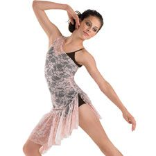 Asymmetrical Floral Lace Overdress; Balera  Love this costume!!!