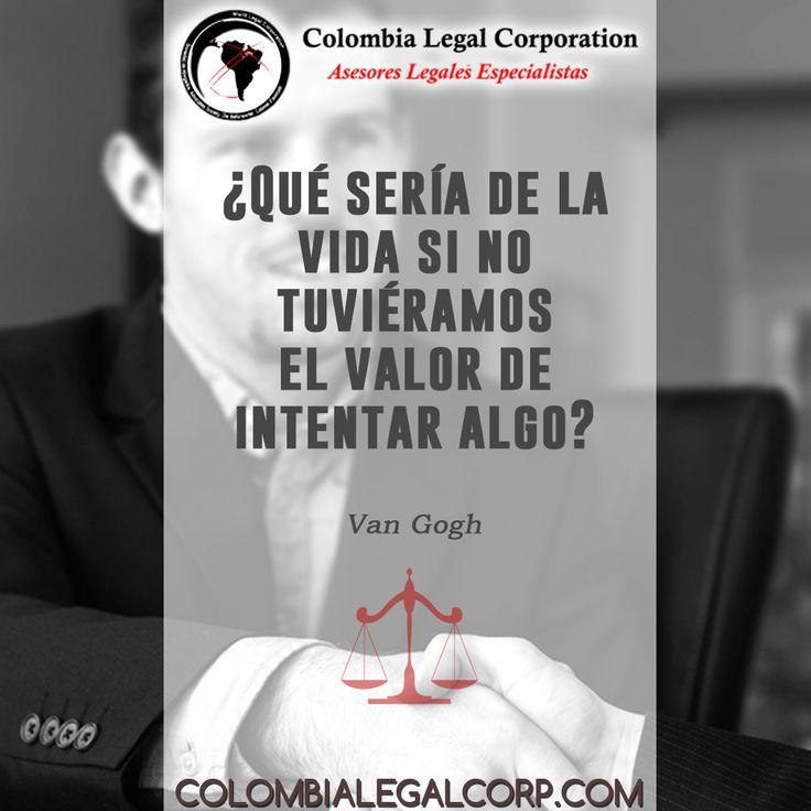 Hoy es un buen día para intentar algo nuevo, y recuerda que nuestro equipo de abogados siempre estará allí donde lo necesites. Visita: colombialegalcorp.com