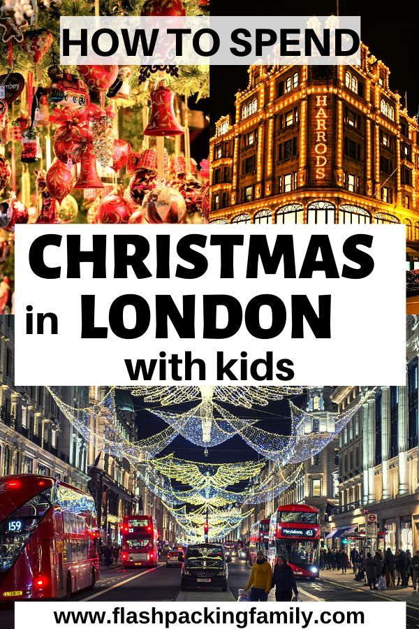 Christmas In London With Kids 2019
