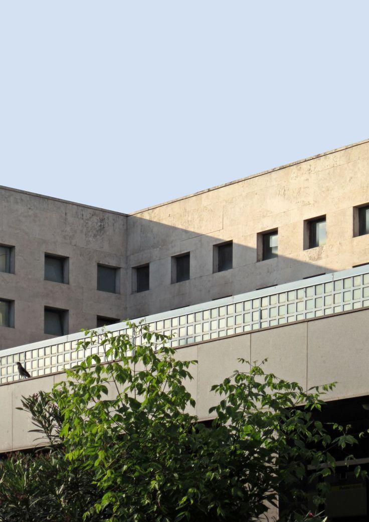 Palazzo delle Poste in via Marmorata, 1933-1935, by Adalberto Libera and Mario De Renzi