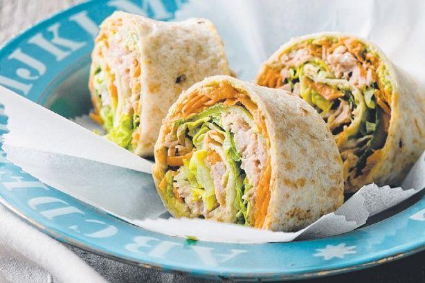 Tuna & salad pinwheels main image