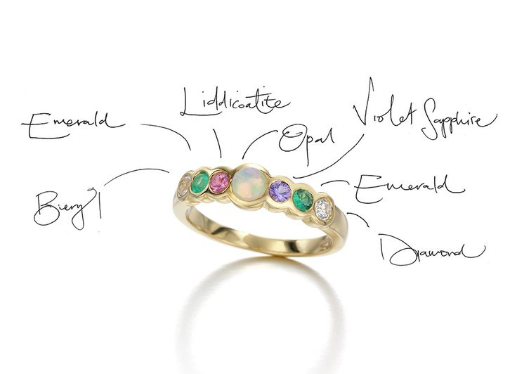 Send A Bejewelled Love Letter With Acrostic Jewels That Spell Out
