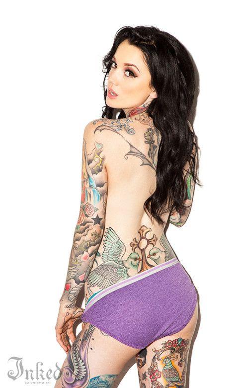 Nude nina kate tattoos