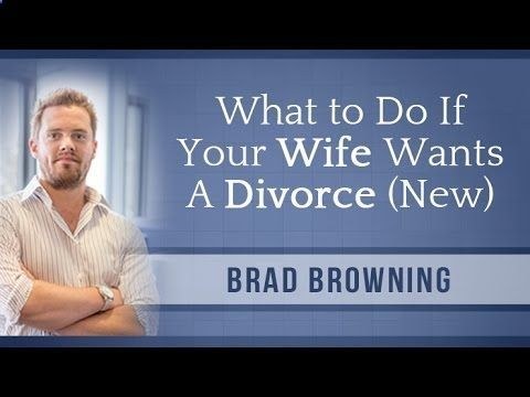 How to know if your wife wants a divorce
