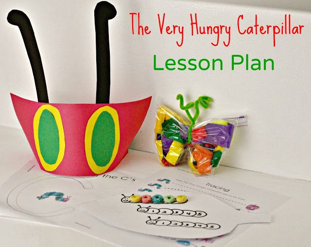 Great lesson plan for pre-k! Love the hat and sensory  butterfly #craft. #lesson #caterpillar